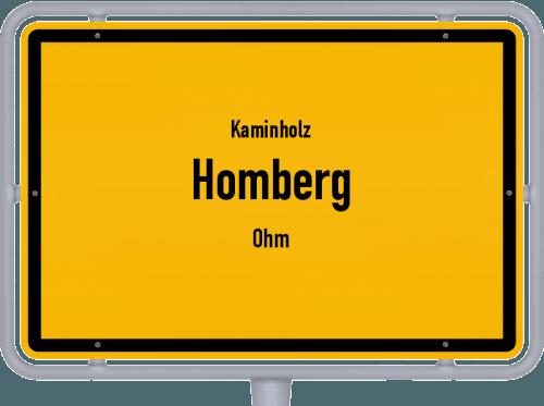 Kaminholz & Brennholz-Angebote in Homberg (Ohm), Großes Bild
