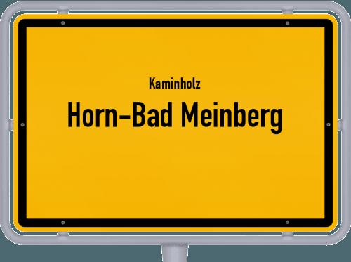Kaminholz & Brennholz-Angebote in Horn-Bad Meinberg, Großes Bild