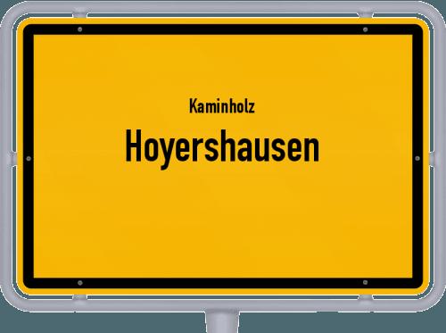 Kaminholz & Brennholz-Angebote in Hoyershausen, Großes Bild