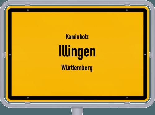 Kaminholz & Brennholz-Angebote in Illingen (Württemberg), Großes Bild