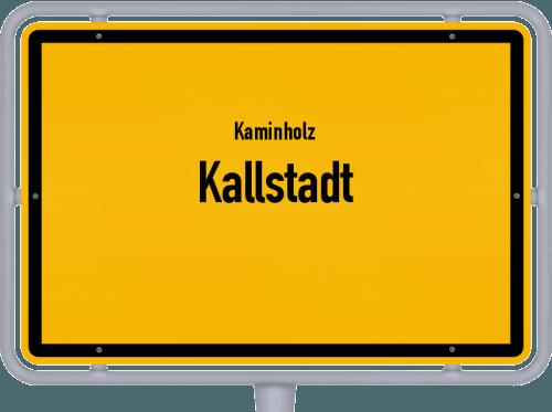 Kaminholz & Brennholz-Angebote in Kallstadt, Großes Bild