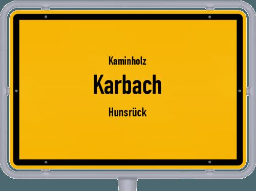 Kaminholz & Brennholz-Angebote in Karbach (Hunsrück), Großes Bild