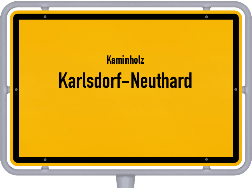 Kaminholz & Brennholz-Angebote in Karlsdorf-Neuthard, Großes Bild