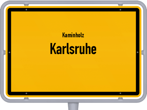 Kaminholz & Brennholz-Angebote in Karlsruhe, Großes Bild