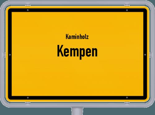 Kaminholz & Brennholz-Angebote in Kempen, Großes Bild