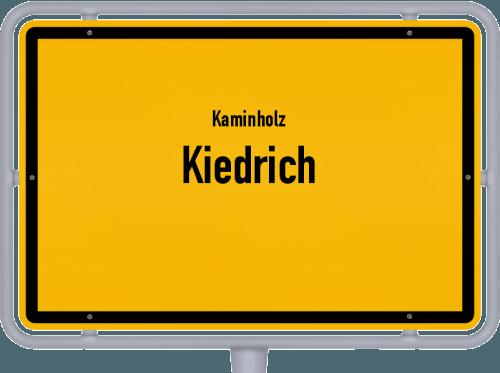 Kaminholz & Brennholz-Angebote in Kiedrich, Großes Bild