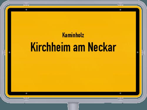 Kaminholz & Brennholz-Angebote in Kirchheim am Neckar, Großes Bild