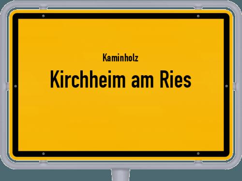 Kaminholz & Brennholz-Angebote in Kirchheim am Ries, Großes Bild