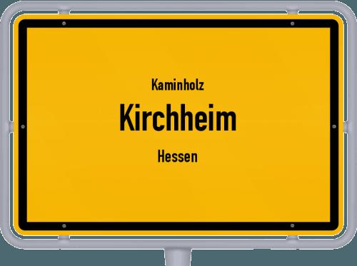 Kaminholz & Brennholz-Angebote in Kirchheim (Hessen), Großes Bild