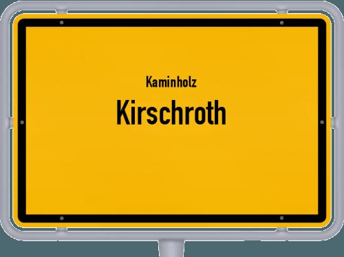 Kaminholz & Brennholz-Angebote in Kirschroth, Großes Bild