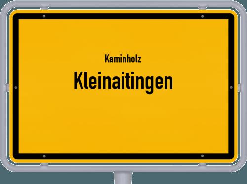 Kaminholz & Brennholz-Angebote in Kleinaitingen, Großes Bild