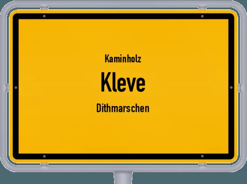 Kaminholz & Brennholz-Angebote in Kleve (Dithmarschen), Großes Bild