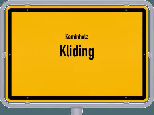 Kaminholz & Brennholz-Angebote in Kliding, Großes Bild