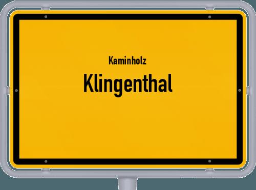 Kaminholz & Brennholz-Angebote in Klingenthal, Großes Bild