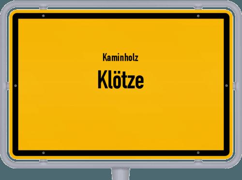 Kaminholz & Brennholz-Angebote in Klötze, Großes Bild