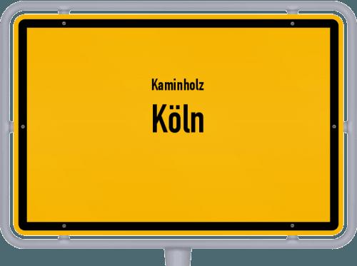 Kaminholz & Brennholz-Angebote in Köln, Großes Bild