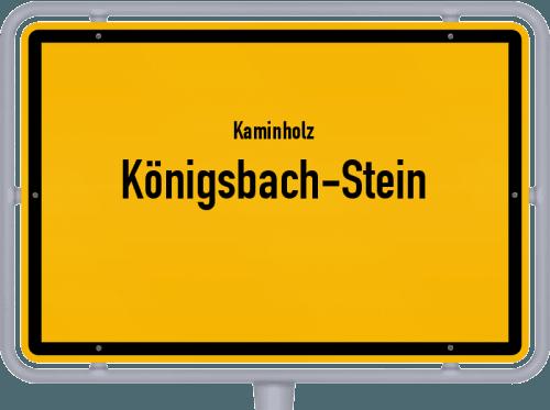 Kaminholz & Brennholz-Angebote in Königsbach-Stein, Großes Bild