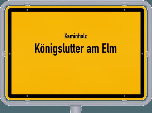 Kaminholz & Brennholz-Angebote in Königslutter am Elm, Großes Bild
