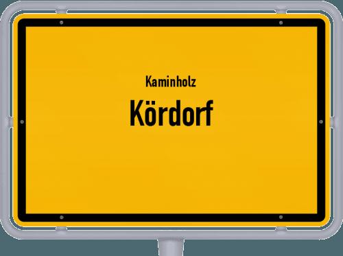 Kaminholz & Brennholz-Angebote in Kördorf, Großes Bild