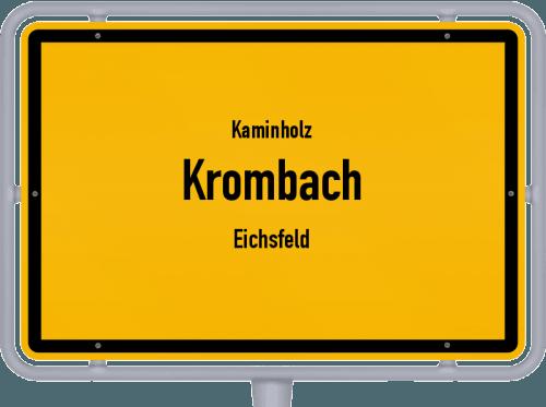 Kaminholz & Brennholz-Angebote in Krombach (Eichsfeld), Großes Bild
