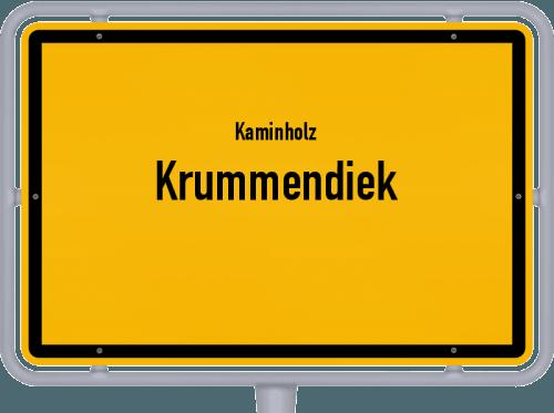 Kaminholz & Brennholz-Angebote in Krummendiek, Großes Bild