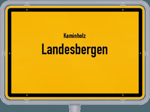 Kaminholz & Brennholz-Angebote in Landesbergen, Großes Bild