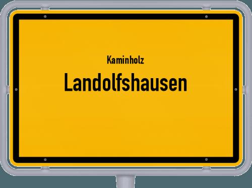 Kaminholz & Brennholz-Angebote in Landolfshausen, Großes Bild