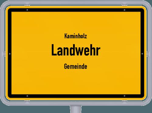 Kaminholz & Brennholz-Angebote in Landwehr (Gemeinde), Großes Bild