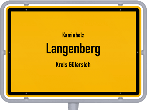 Kaminholz & Brennholz-Angebote in Langenberg (Kreis Gütersloh), Großes Bild