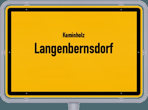 Kaminholz & Brennholz-Angebote in Langenbernsdorf, Großes Bild