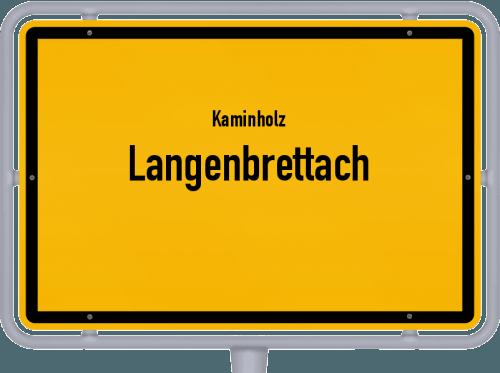 Kaminholz & Brennholz-Angebote in Langenbrettach, Großes Bild
