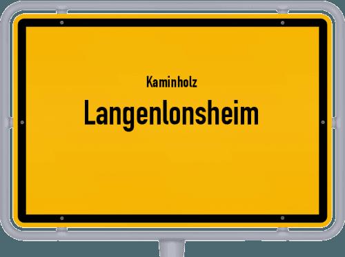 Kaminholz & Brennholz-Angebote in Langenlonsheim, Großes Bild