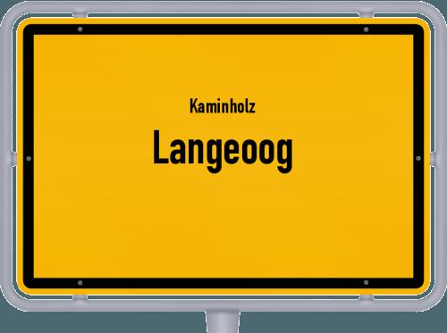 Kaminholz & Brennholz-Angebote in Langeoog, Großes Bild