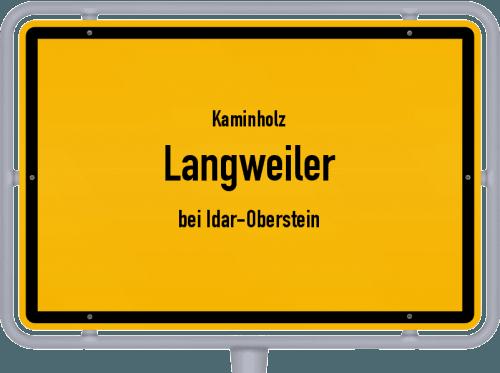 Kaminholz & Brennholz-Angebote in Langweiler (bei Idar-Oberstein), Großes Bild