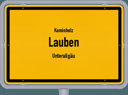 Kaminholz & Brennholz-Angebote in Lauben (Unterallgäu), Großes Bild