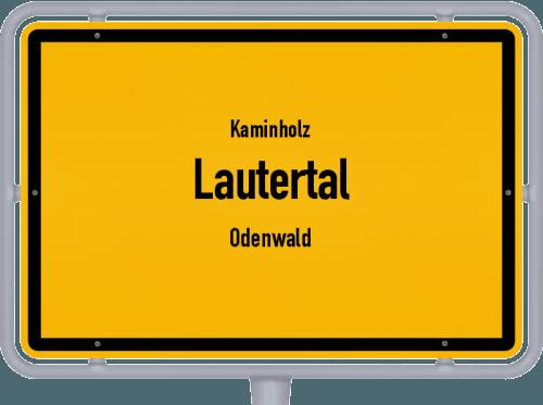 Kaminholz & Brennholz-Angebote in Lautertal (Odenwald), Großes Bild