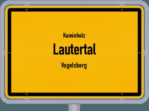 Kaminholz & Brennholz-Angebote in Lautertal (Vogelsberg), Großes Bild