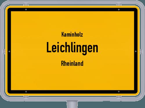 Kaminholz & Brennholz-Angebote in Leichlingen (Rheinland), Großes Bild