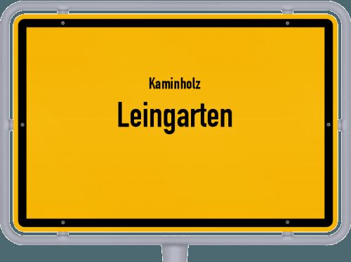 Kaminholz & Brennholz-Angebote in Leingarten, Großes Bild