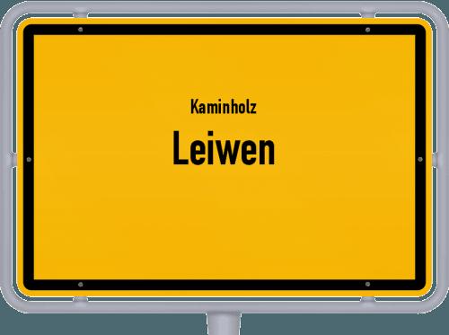 Kaminholz & Brennholz-Angebote in Leiwen, Großes Bild