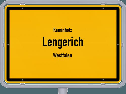 Kaminholz & Brennholz-Angebote in Lengerich (Westfalen), Großes Bild