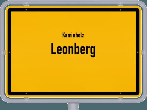 Kaminholz & Brennholz-Angebote in Leonberg, Großes Bild