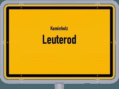Kaminholz & Brennholz-Angebote in Leuterod, Großes Bild