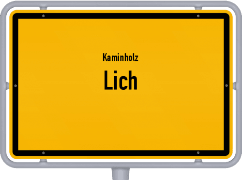 Kaminholz & Brennholz-Angebote in Lich, Großes Bild