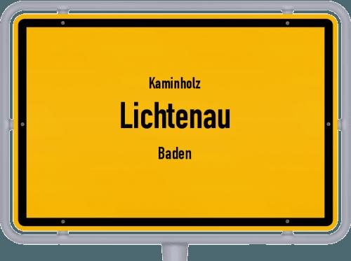 Kaminholz & Brennholz-Angebote in Lichtenau (Baden), Großes Bild