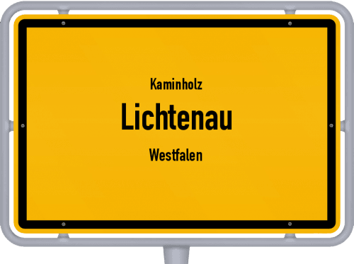 Kaminholz & Brennholz-Angebote in Lichtenau (Westfalen), Großes Bild