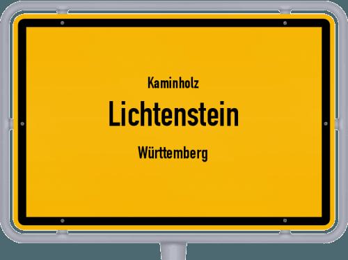 Kaminholz & Brennholz-Angebote in Lichtenstein (Württemberg), Großes Bild