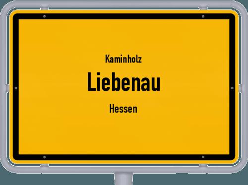Kaminholz & Brennholz-Angebote in Liebenau (Hessen), Großes Bild