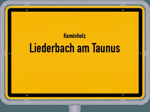 Kaminholz & Brennholz-Angebote in Liederbach am Taunus, Großes Bild