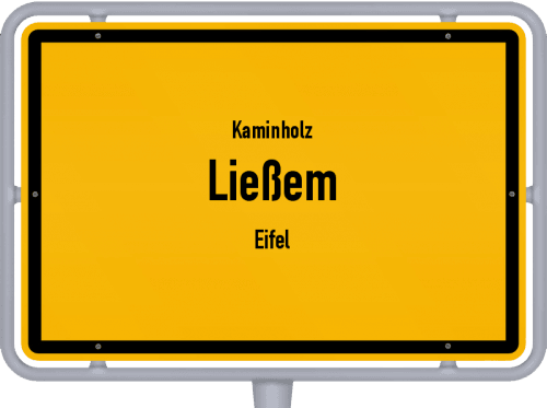 Kaminholz & Brennholz-Angebote in Ließem (Eifel), Großes Bild